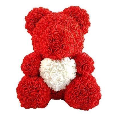 oso de rosas rojo barato