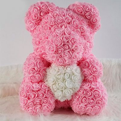 oso de rosas rosa barcelona