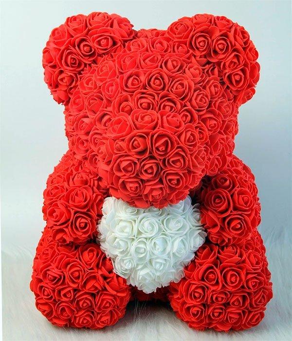 oso de rosas rojo barcelona