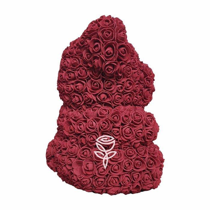 oso de rosas granate barcelona