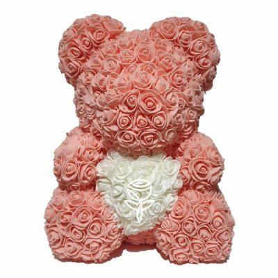 oso de rosas melocoton barcelona