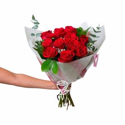 Ramo de 6 Rosas Rojas barcelona